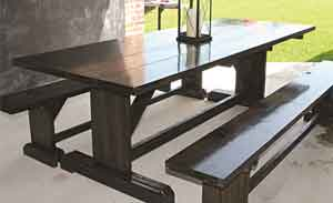 Texas Tablesnet Your Place For PicNic Tables Benches Chairs - Ranch style table