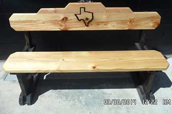 Texas Tables Your Place For PicNic Tables Benches Chairs - Ranch style table